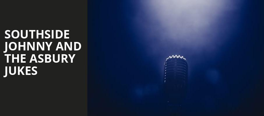 Southside Johnny and The Asbury Jukes, Count Basie Theatre, New York