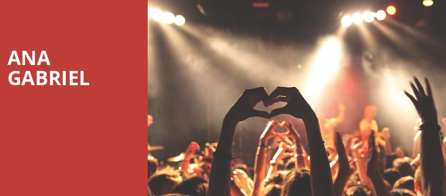 Ana Gabriel, Radio City Music Hall, New York