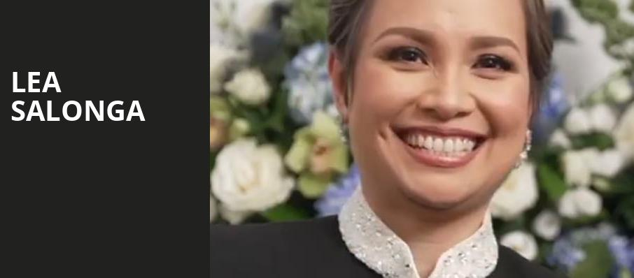 Lea Salonga, Sony Hall, New York