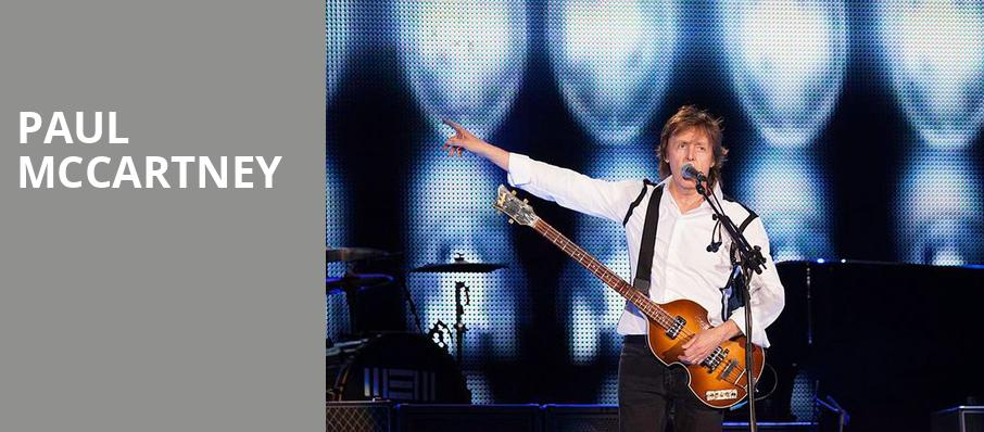 Paul McCartney, Nassau Coliseum, New York