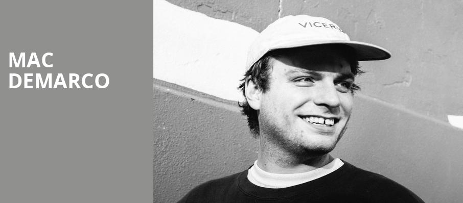 Mac DeMarco, Palace Theater, New York