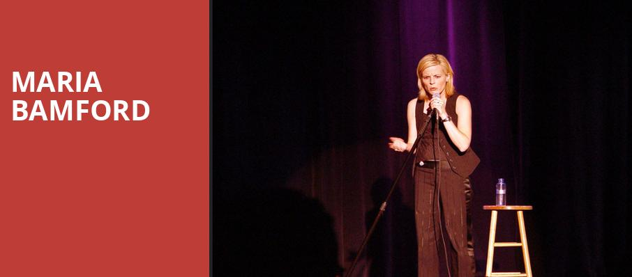 Maria Bamford, Prudential Hall, New York