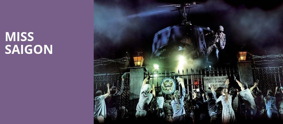 Miss Saigon, Broadway Theater, New York