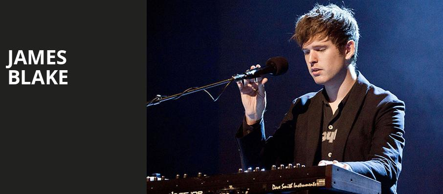 James Blake, Terminal 5, New York