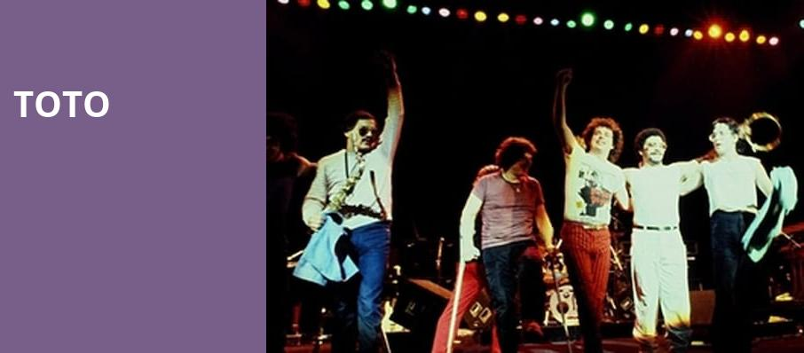 Toto, Bergen Performing Arts Center, New York