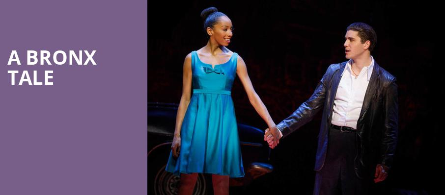 A Bronx Tale, Longacre Theater, New York