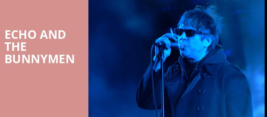 Echo and The Bunnymen, Town Hall Theater, New York