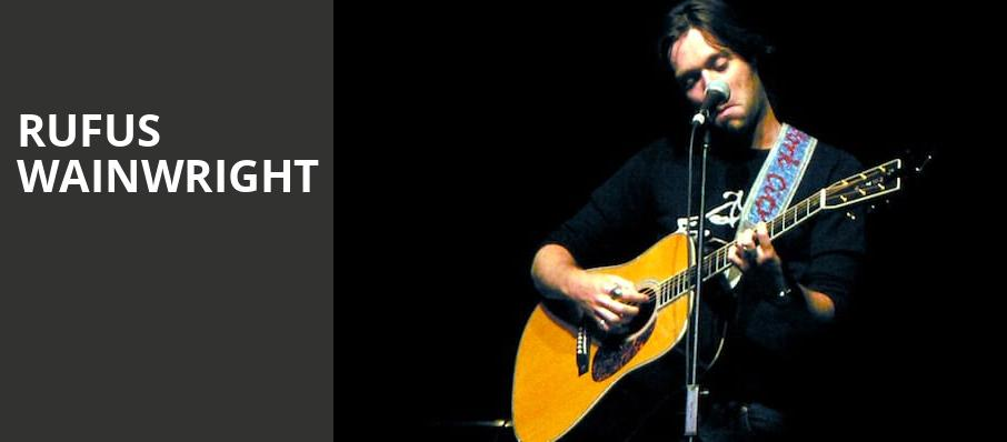 Rufus Wainwright, New York City Winery, New York
