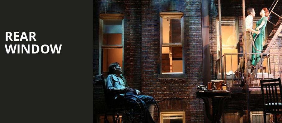 Rear Window, Venue To Be Announced, New York