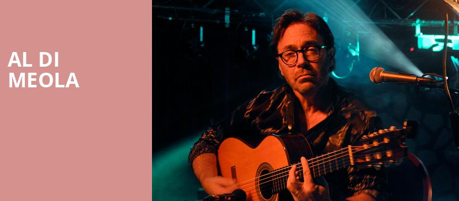 Al Di Meola, The Space at Westbury, New York