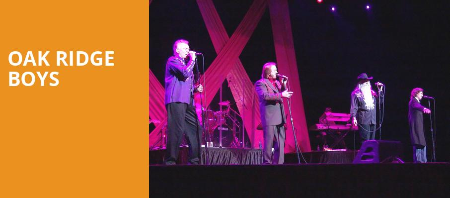 Oak Ridge Boys, Bergen Performing Arts Center, New York