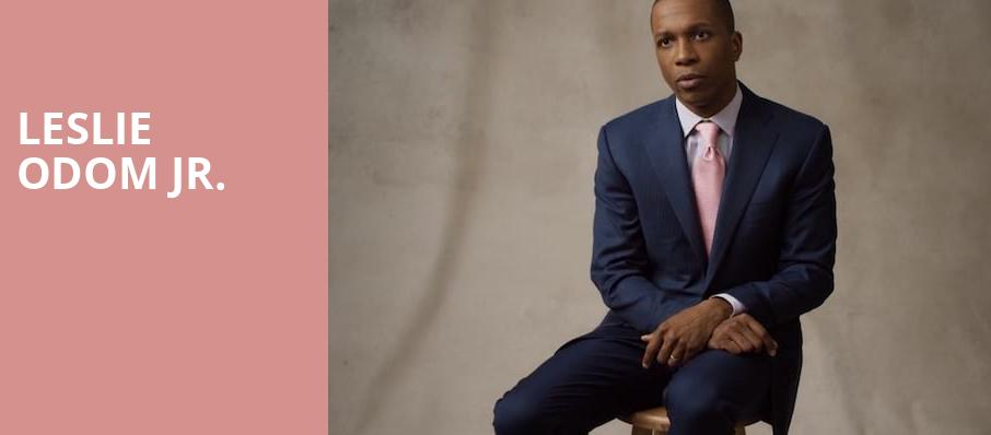 Leslie Odom Jr, Appel Room, New York