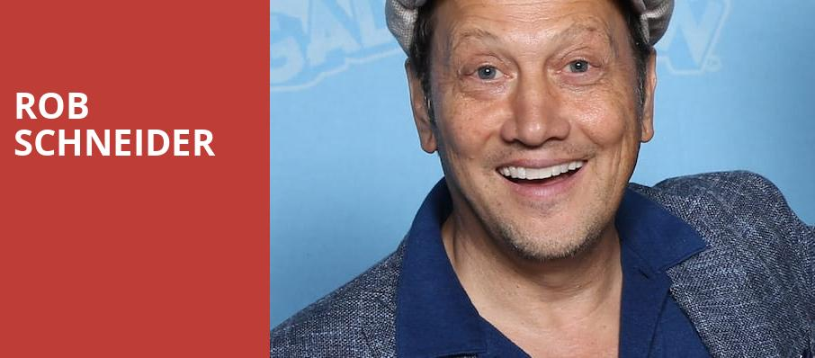 Rob Schneider, Carolines Comedy Club, New York