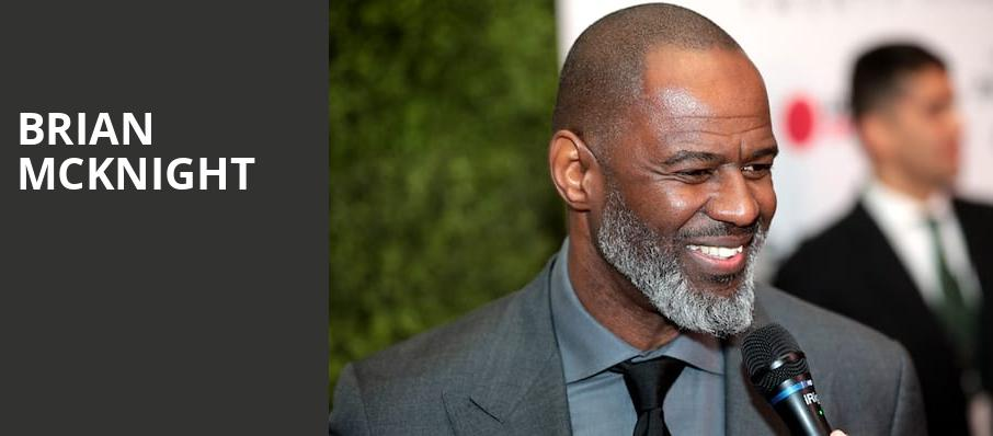 Brian McKnight, Sony Hall, New York