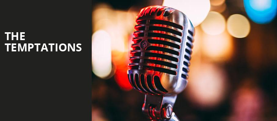 The Temptations, Paramount Theatre, New York