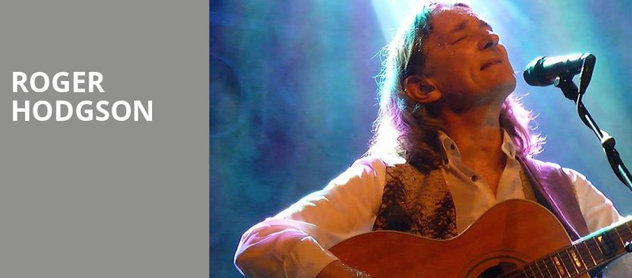 Roger Hodgson, Bergen Performing Arts Center, New York