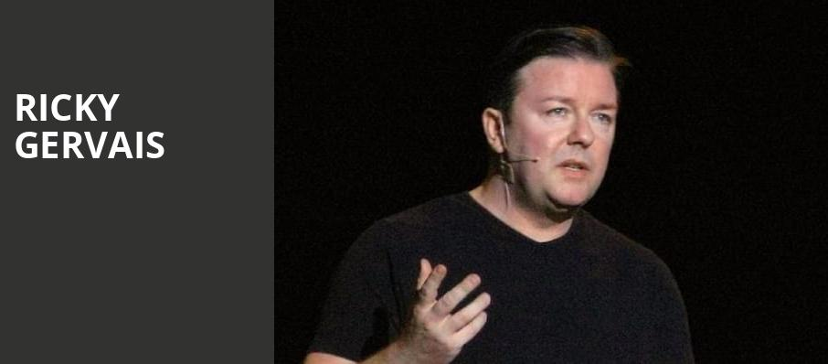 Ricky Gervais, Theater at Madison Square Garden, New York