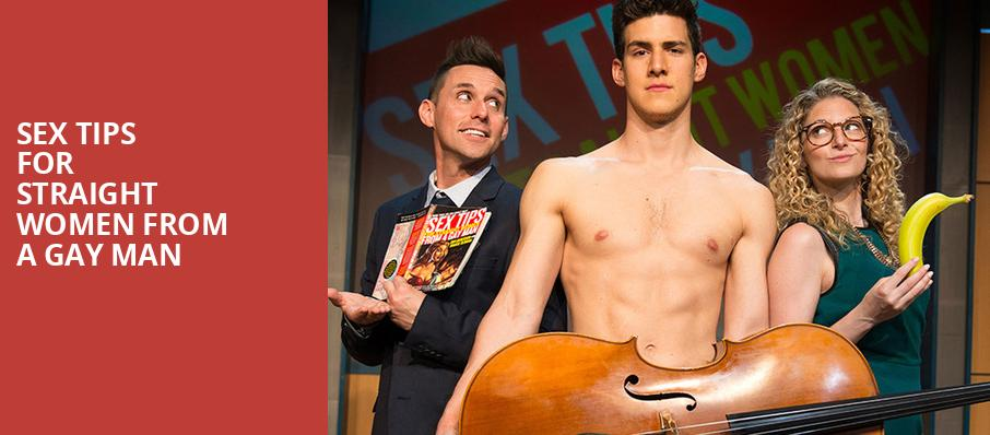 Sex Tips For Straight Women From A Gay Man, Bergen Performing Arts Center, New York