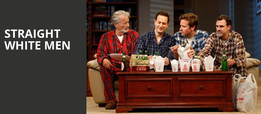 Straight White Men, Helen Hayes Theater, New York
