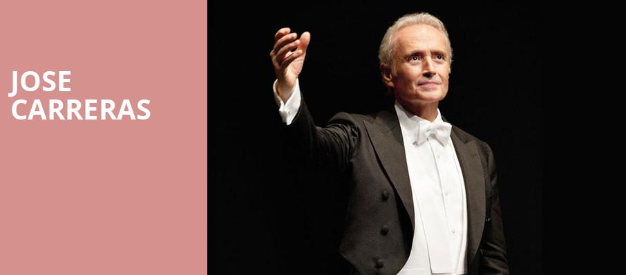 Jose Carreras, Isaac Stern Auditorium, New York