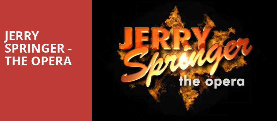 Jerry Springer The Opera, The Pershing Square Signature Center, New York