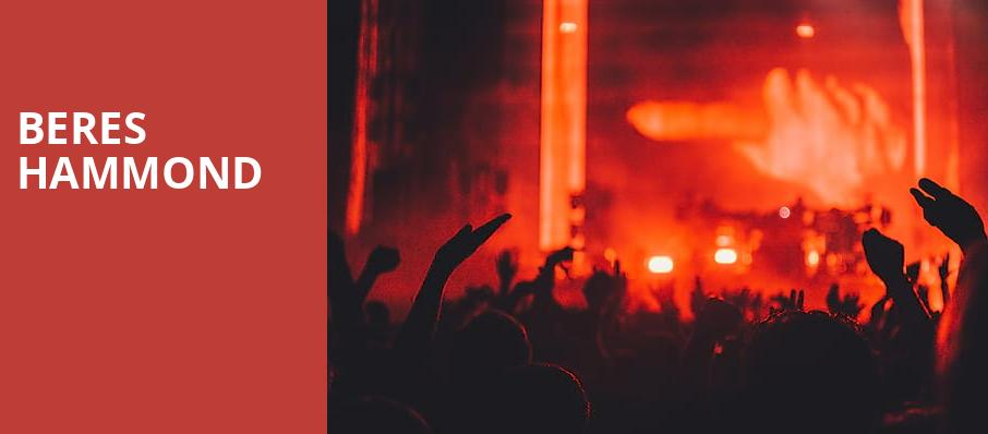 Beres Hammond, Prudential Hall, New York