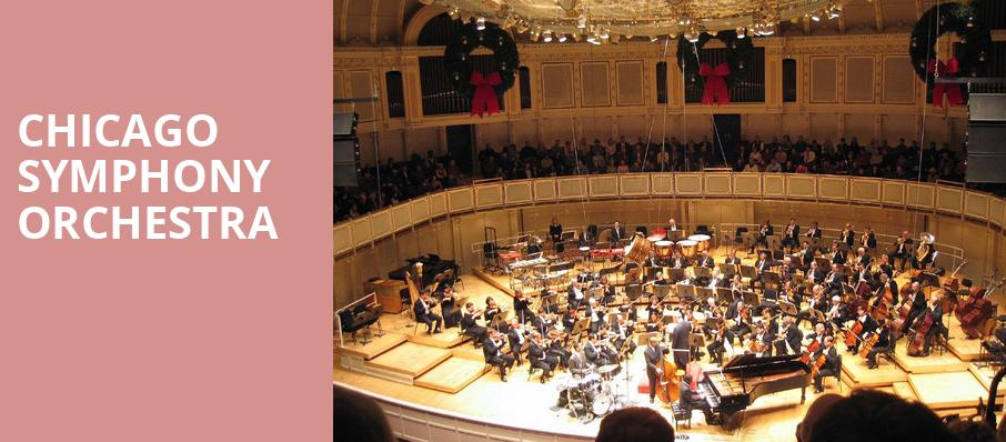 Chicago Symphony Orchestra, Isaac Stern Auditorium, New York