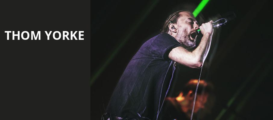 Thom Yorke, Radio City Music Hall, New York
