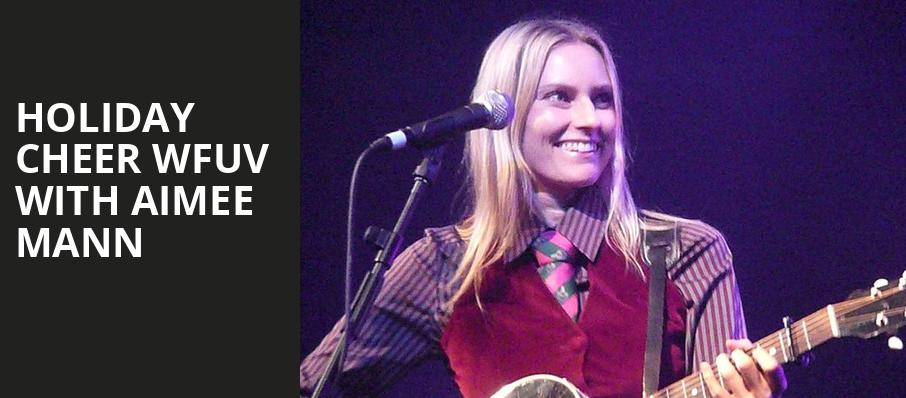 Holiday Cheer WFUV with Aimee Mann, Beacon Theater, New York