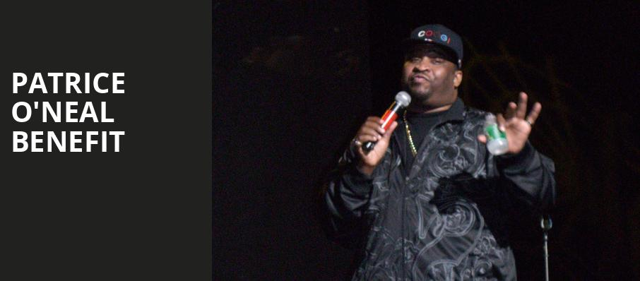 Patrice ONeal Benefit, New York City Center Mainstage, New York