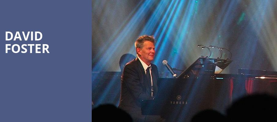 David Foster, NYCB Theatre at Westbury, New York