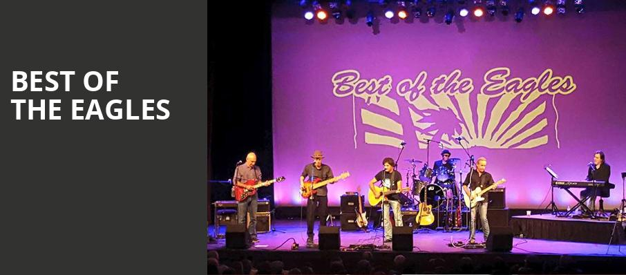 Best of the Eagles, Count Basie Theatre, New York