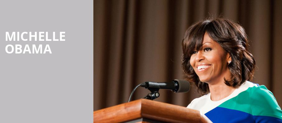 Michelle Obama, Prudential Center, New York