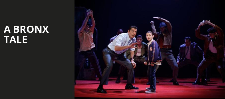 A Bronx Tale, Hackensack Meridian Health Theatre, New York