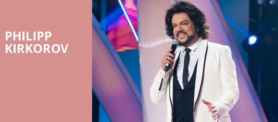 Philipp Kirkorov, Theater at Madison Square Garden, New York