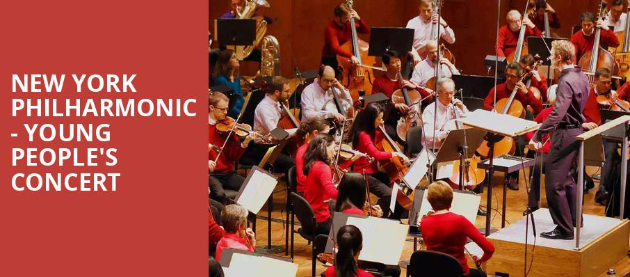 New York Philharmonic Young Peoples Concert, David Geffen Hall at Lincoln Center, New York