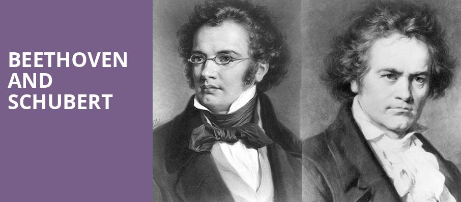 Beethoven and Schubert, David Geffen Hall at Lincoln Center, New York