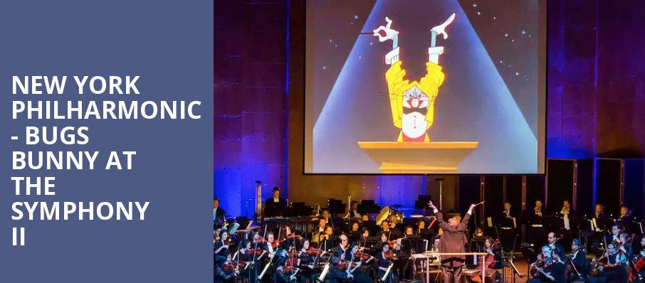 New York Philharmonic Bugs Bunny at the Symphony II, David Geffen Hall at Lincoln Center, New York