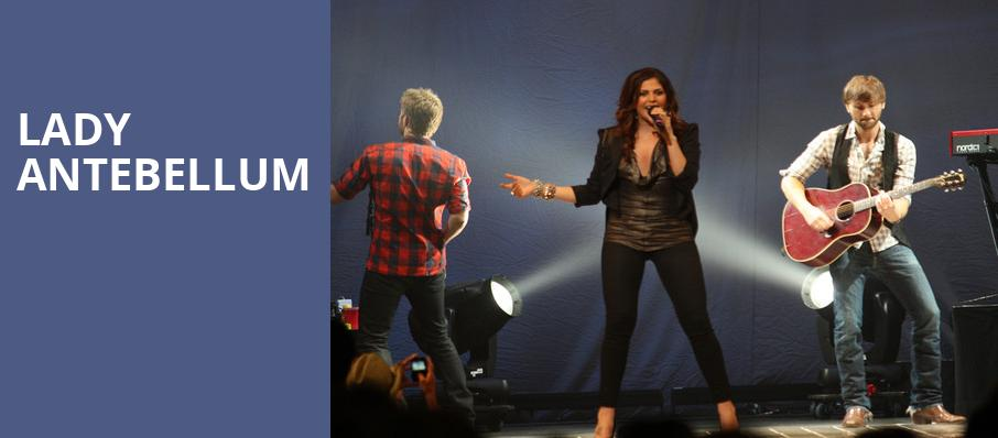 Lady Antebellum, Bethel Woods Center For The Arts, New York