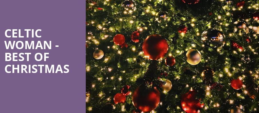 Celtic Woman Best Of Christmas, Bergen Performing Arts Center, New York