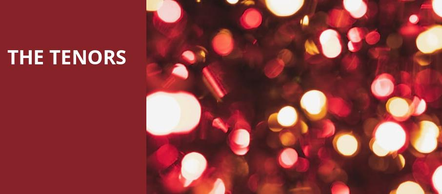 The Tenors, Town Hall Theater, New York