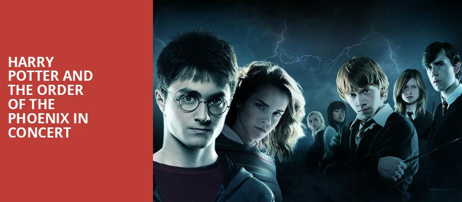 Harry Potter and the Order of the Phoenix in Concert, Prudential Hall, New York