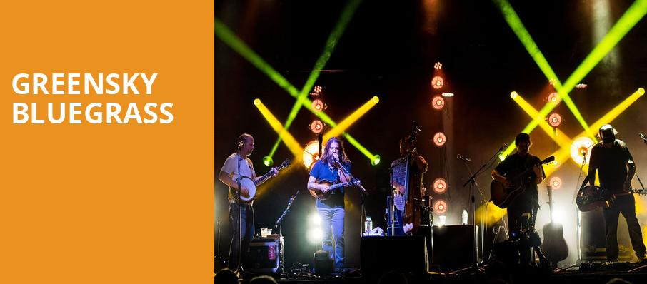 Greensky Bluegrass, Beacon Theater, New York
