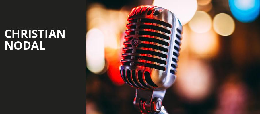Christian Nodal, United Palace Theater, New York
