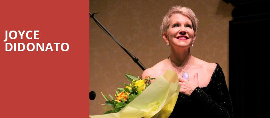Joyce Didonato, Isaac Stern Auditorium, New York