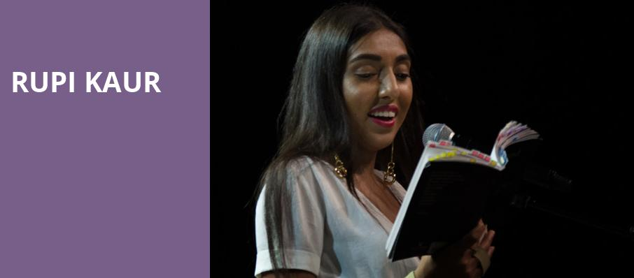 Rupi Kaur, Town Hall Theater, New York
