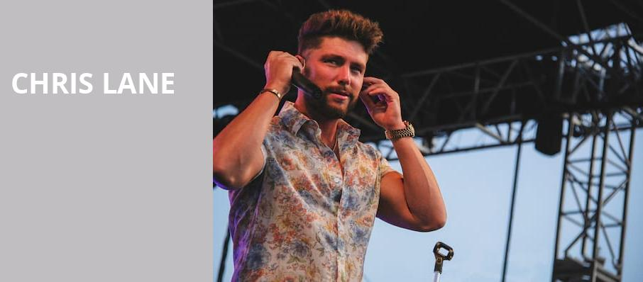 Chris Lane, Irving Plaza, New York