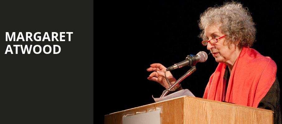 Margaret Atwood, Town Hall Theater, New York