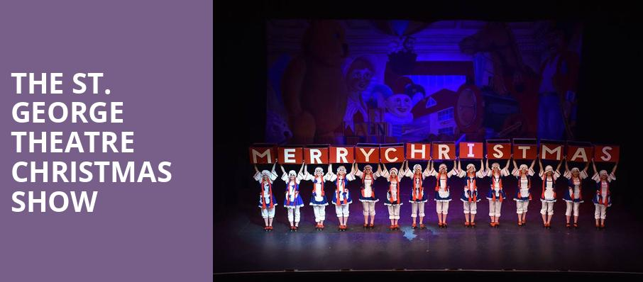 The St George Theatre Christmas Show, St George Theatre, New York