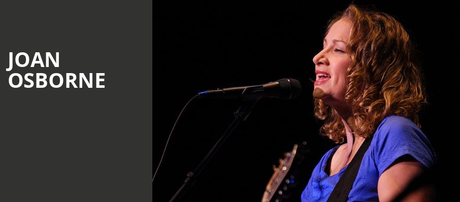 Joan Osborne, New York City Winery, New York